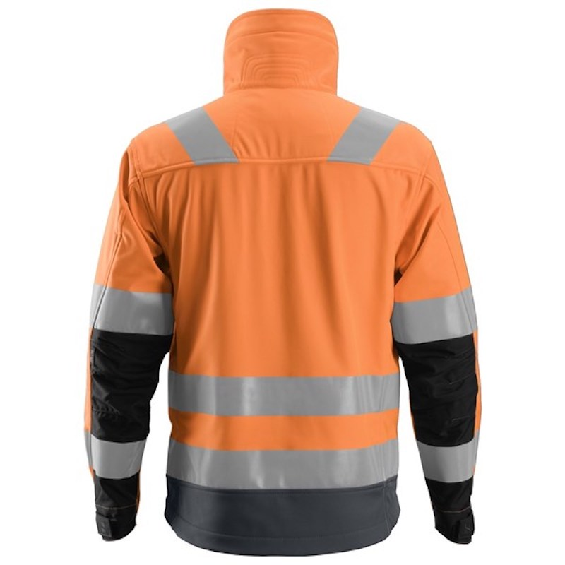 Mätinstrument ALLROUNDWORK, HIGH-VIS SOFTSHELL JACKA CL3