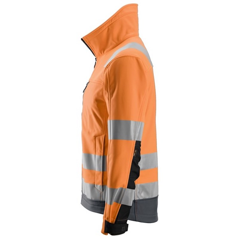 ALLROUNDWORK, HIGH-VIS SOFTSHELL JACKA CL3